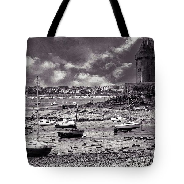Tote Bag featuring the photograph Stormy Weather by Elf Evans