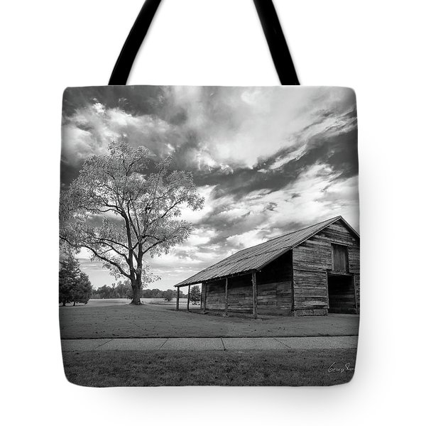 Stormy Weather Tote Bag by George Randy Bass