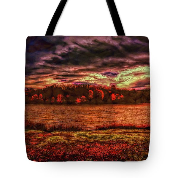 Tote Bag featuring the photograph Stormy Weather by John M Bailey