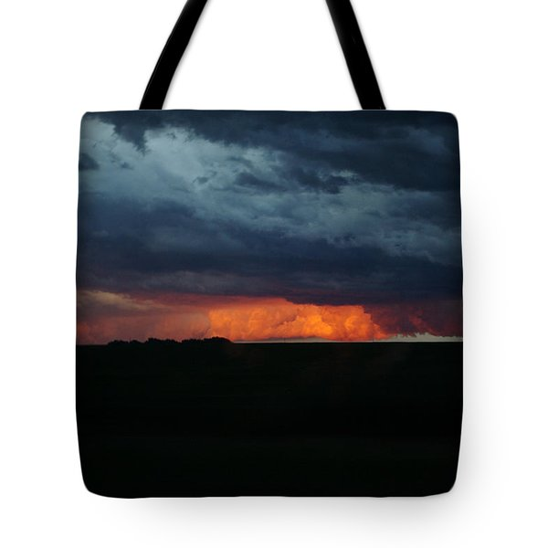 Stormy Weather Tote Bag by Kathy M Krause