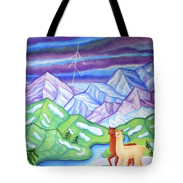 Stormy Weather Tote Bag by Tracy Dennison