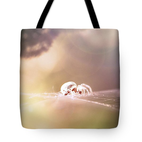 Story Of A Spider Tote Bag