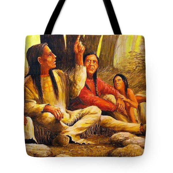 Story Teller Tote Bag