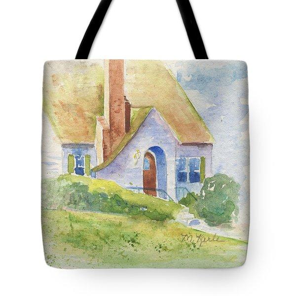 Storybook House Tote Bag
