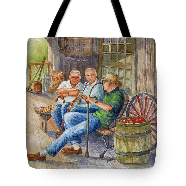 Storyteller Friends Tote Bag by Marilyn Smith