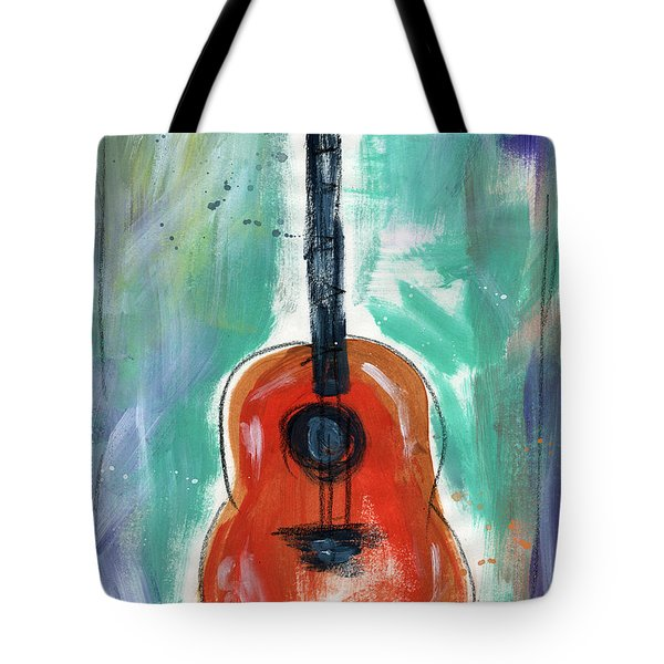 Storyteller's Guitar Tote Bag