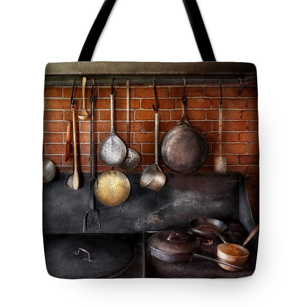 Stove - The Gourmet Chef  Tote Bag by Mike Savad