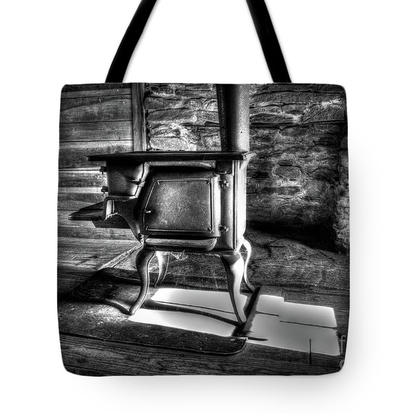 Tote Bag featuring the photograph Stove by Douglas Stucky