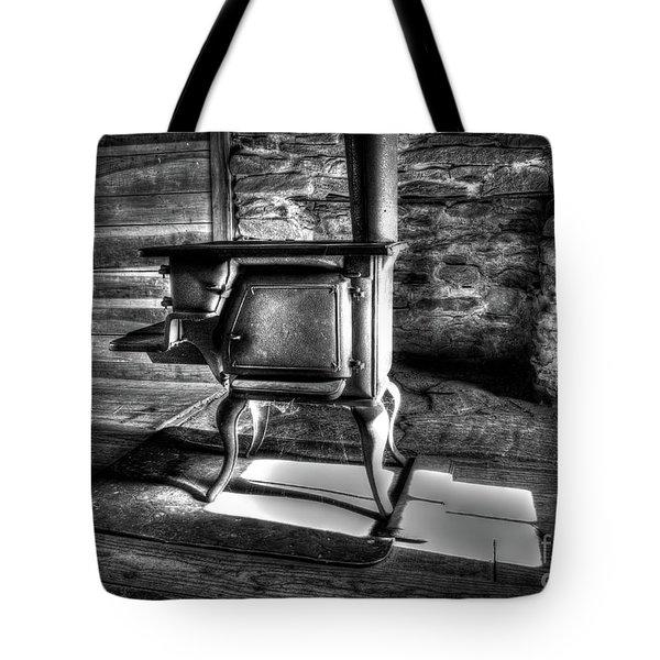 Stove Tote Bag by Douglas Stucky