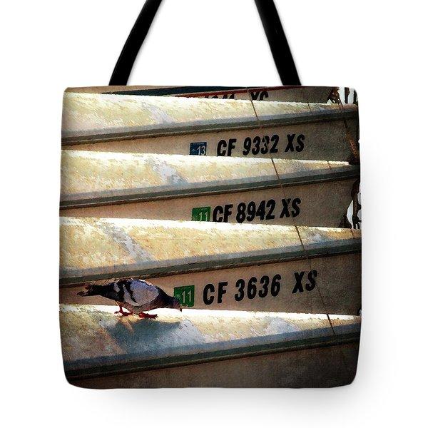 Stowaway Tote Bag by Timothy Bulone