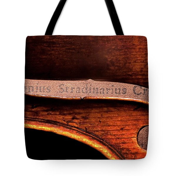 Stradivarius Label Tote Bag