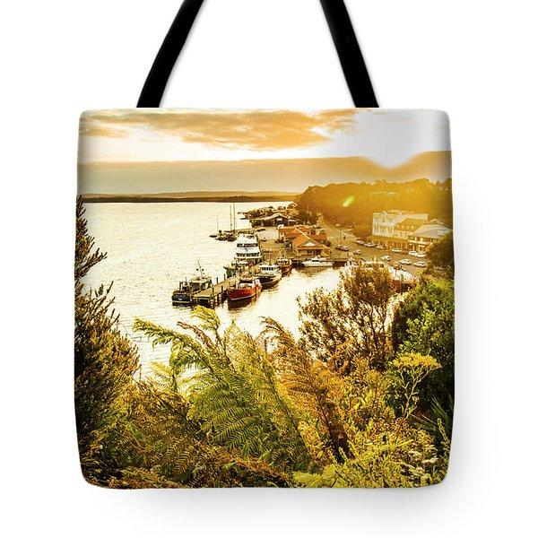 Strahan Sunset Tote Bag