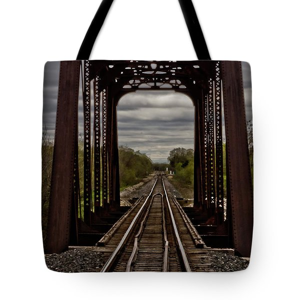 Straight And Narrow Tote Bag by Jill Smith
