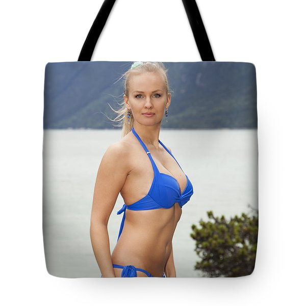 Straight Into The Heart Tote Bag
