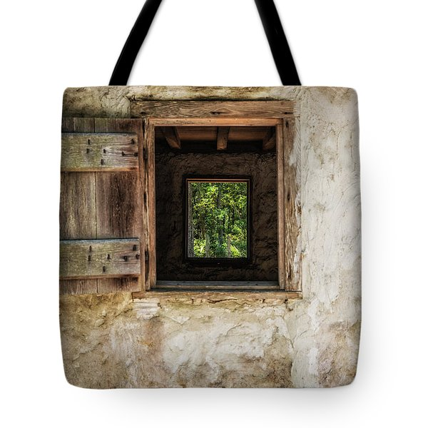 Tote Bag featuring the photograph Straight Through by Jason Roberts