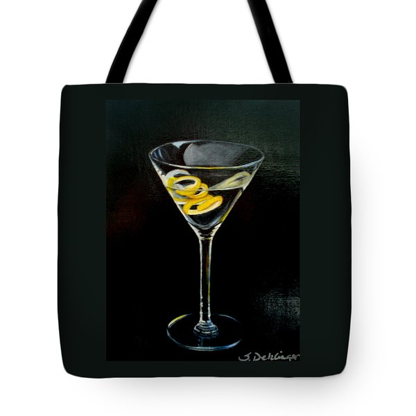 Straight Up And Twisted Tote Bag