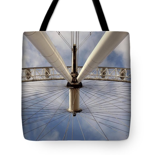 Straight Up London Eye Tote Bag