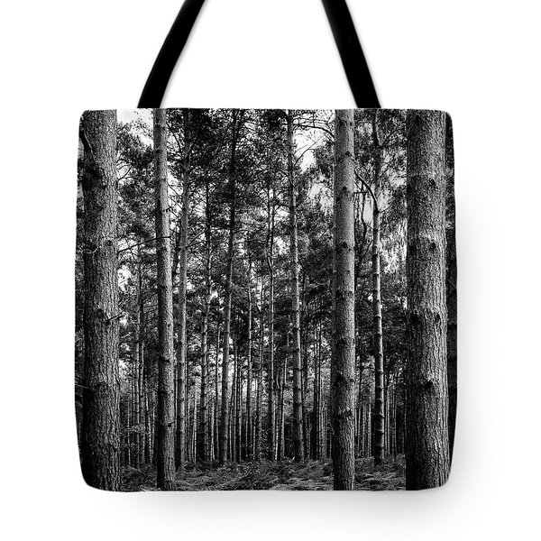Tote Bag featuring the photograph Straight Up by Nick Bywater