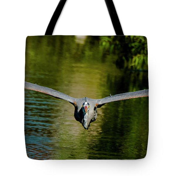 Strait On Tote Bag
