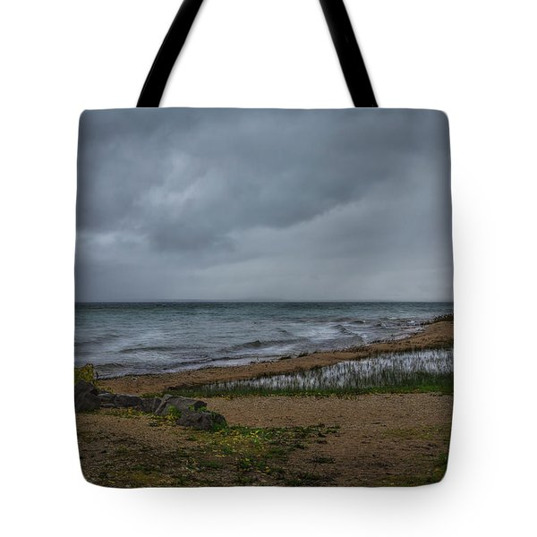 Straits Of Mackinac Tote Bag