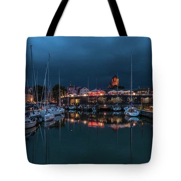 Stralsund At The Habor Tote Bag