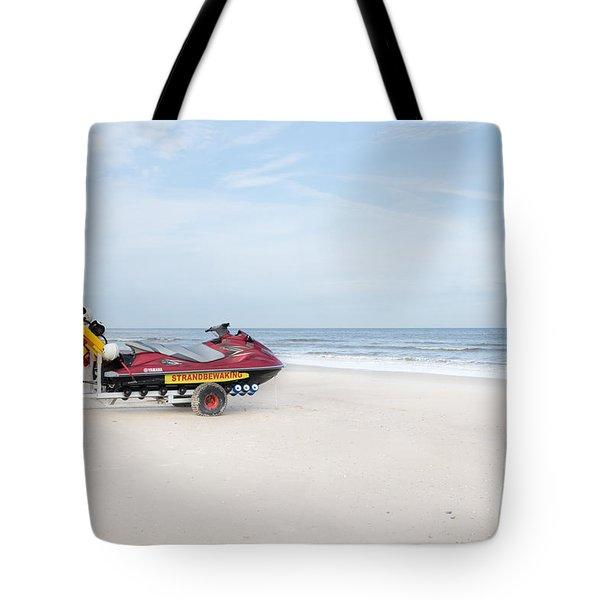 Strandbewaking Tote Bag