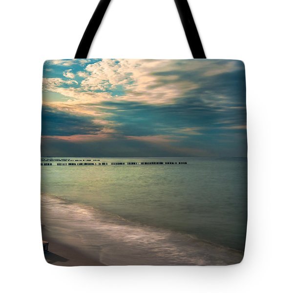 Tote Bag featuring the photograph Stranded by Julis Simo
