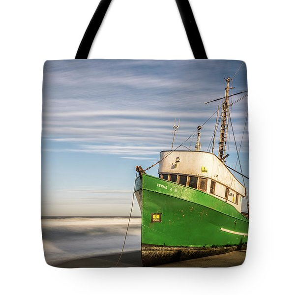 Stranded On The Beach Tote Bag
