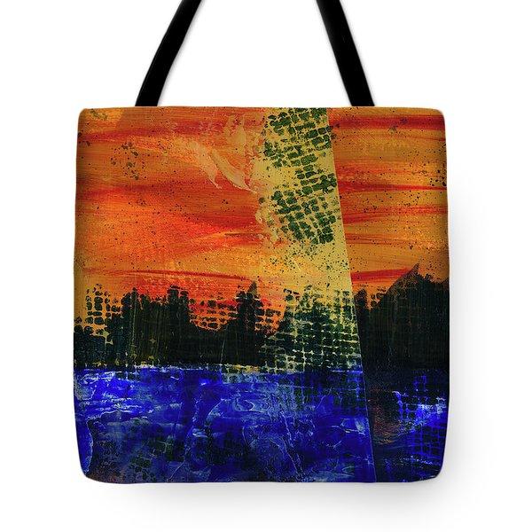 Strange City Tote Bag