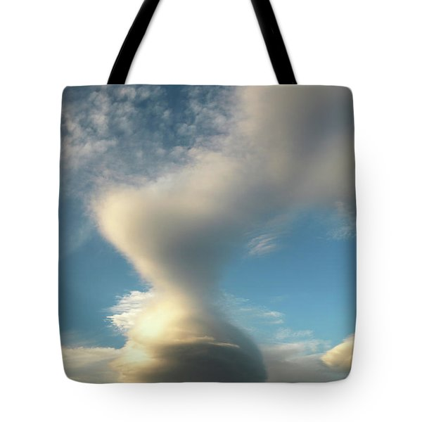 Strange Cloudform Tote Bag by Nareeta Martin