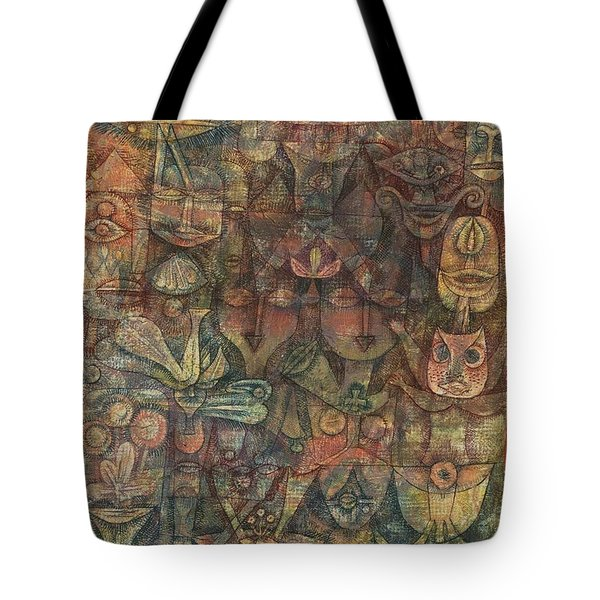 Strange Garden Tote Bag by Paul Klee