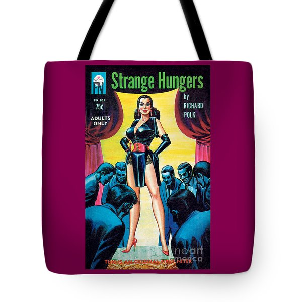 Tote Bag featuring the painting Strange Hungers by Eric Stanton