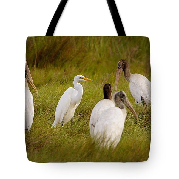 Strange Place Tote Bag