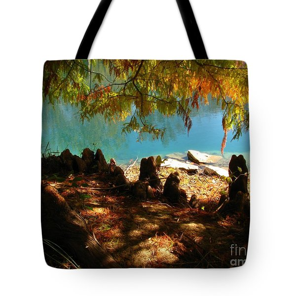 Strange Roots Tote Bag by Misha Bean