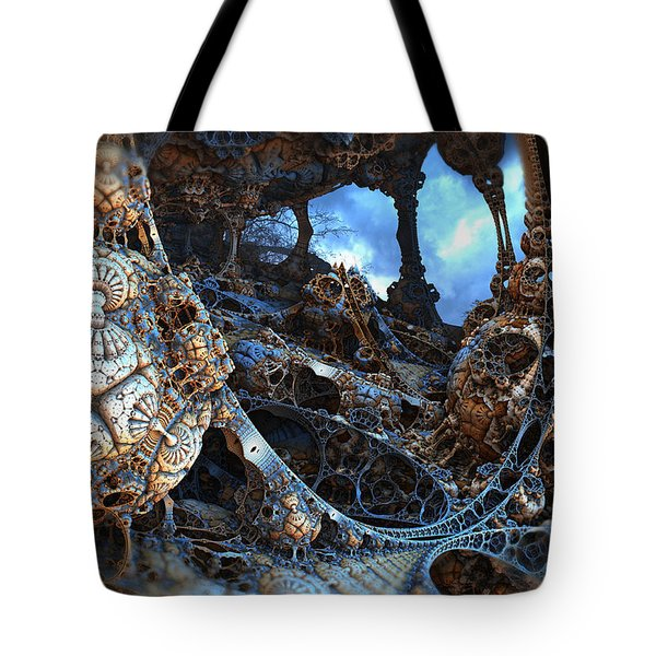 Strange Surroundings Tote Bag