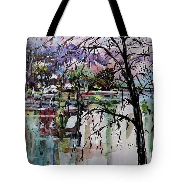 Strange Tree Tote Bag