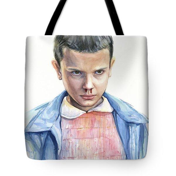 Stranger Things Eleven Portrait Tote Bag