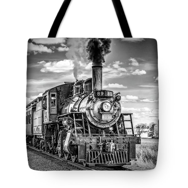 Tote Bag featuring the photograph Strasburg Canadian National 89 by Nick Zelinsky