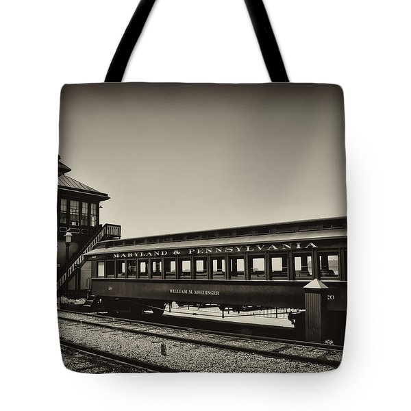 Strasburg Rail Road Tote Bag by Bill Cannon