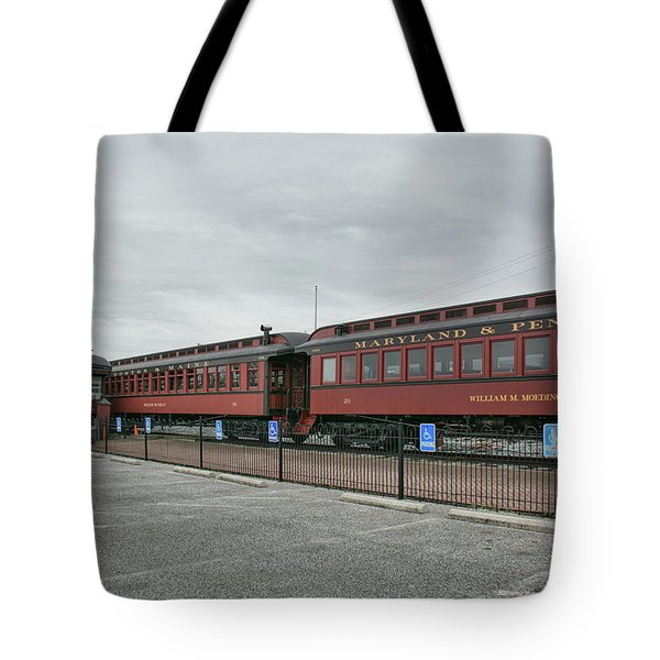 Strasburg Railroad Tote Bag