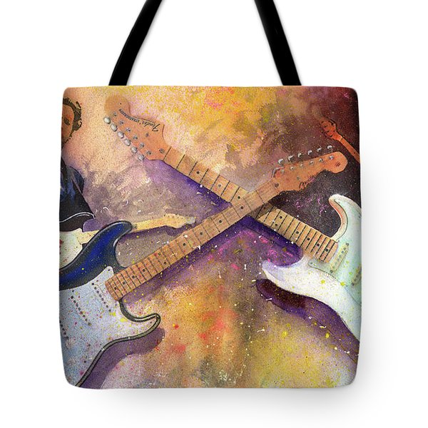 Strat Brothers Tote Bag