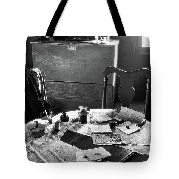 Strategy For The Troups Tote Bag by Nicki McManus