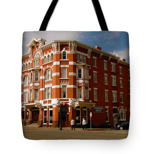 Strater Hotel 1887 Tote Bag by David Lee Thompson