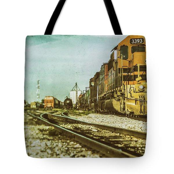 Stratford Rail Yard 2016 Tote Bag