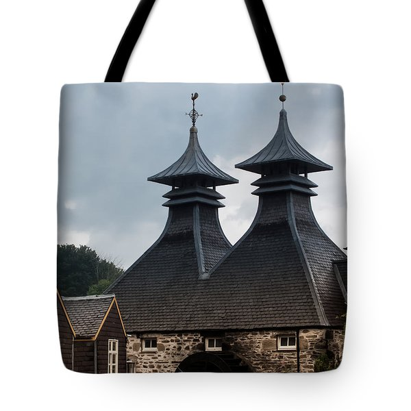 Tote Bag featuring the photograph Strathisla Whisky Distillery Scotland #2 by Jan Bickerton