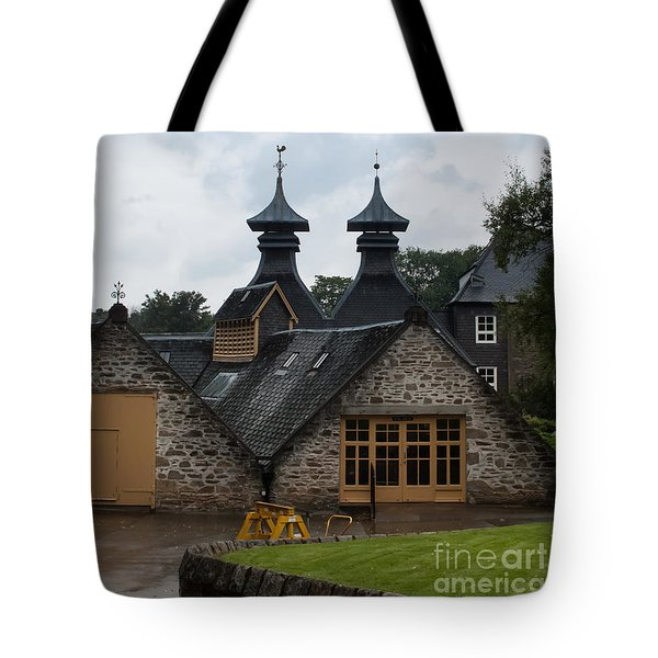 Tote Bag featuring the photograph Strathisla Whisky Distillery Scotland #4 by Jan Bickerton
