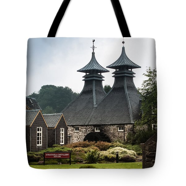 Strathisla Whisky Distillery Scotland Tote Bag by Jan Bickerton