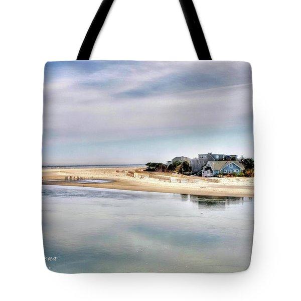 Strathmere Tote Bag by John Loreaux