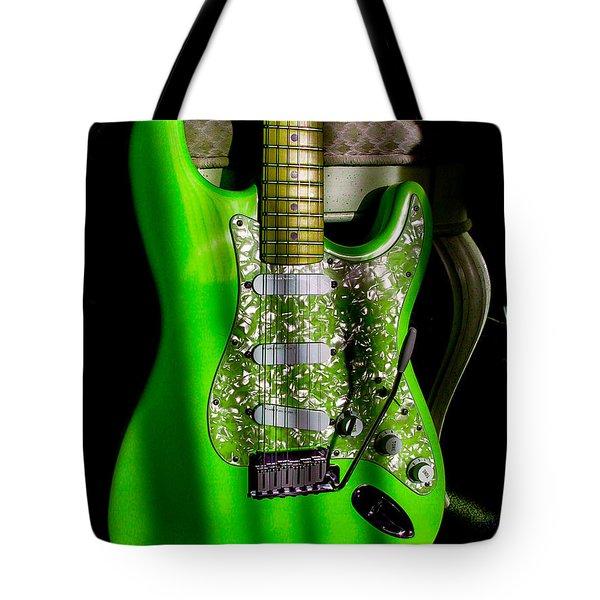 Stratocaster Plus In Green Tote Bag