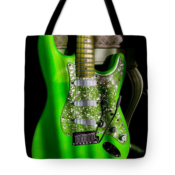 Stratocaster Plus In Green Tote Bag